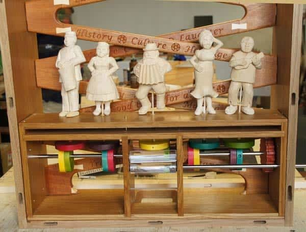 automata and woodcarving