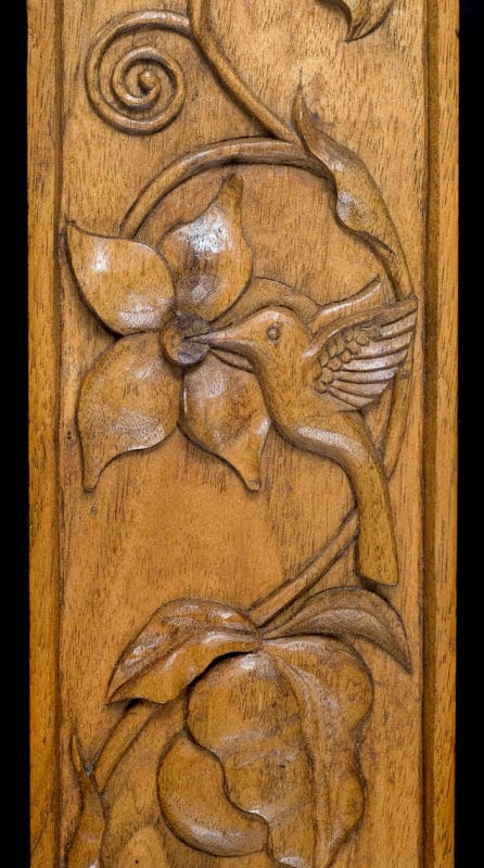Woodcarving by Cecilia Schiller